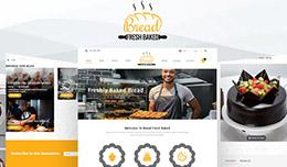 Fresh Bread Bakery and Grocery Theme