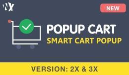 Popup Cart