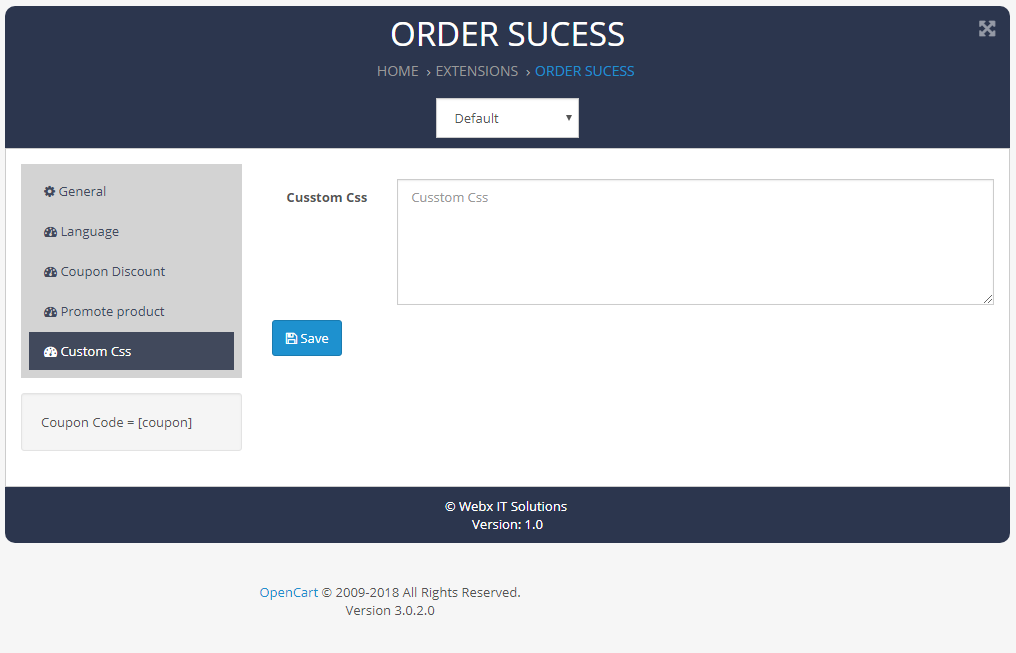 order_success custmor